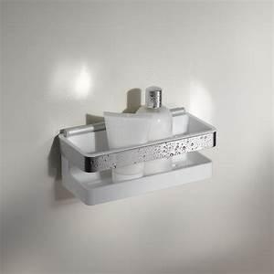 porte savon avec raclette pour douche a l39italienne avec With porte savon douche italienne
