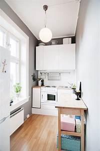Table Pour Petite Cuisine : petite cuisine moderne quels meubles de cuisine ouverte ~ Dailycaller-alerts.com Idées de Décoration
