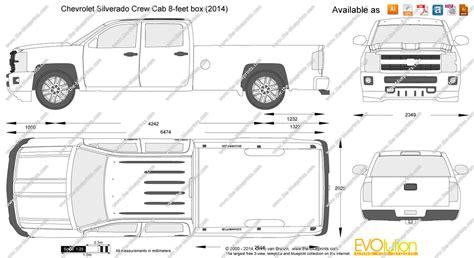 chevy silverado crew cab dimensions auto parts diagrams