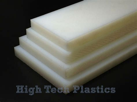 1 quot 12 quot 48 quot natural color hdpe plastic sheet