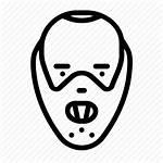 Icon Villain Horror Movie Hannibal Killer Avatar