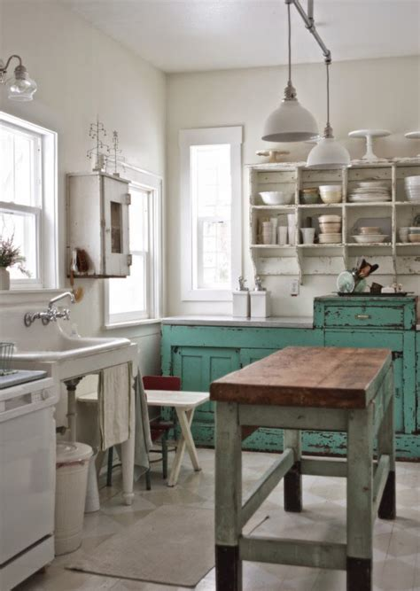 retro kitchen makeover before and after shabby chic to modern vintage kitchen 1942