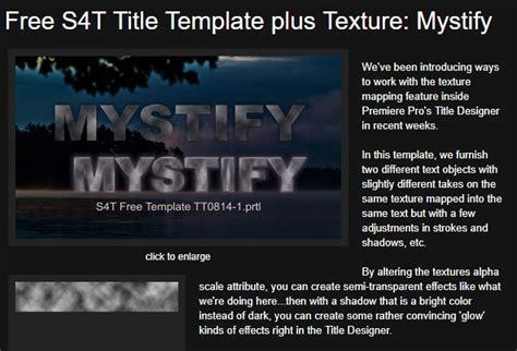 title templates premier top 15 free adobe premiere title templates 2019