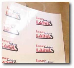 white high gloss labels for laser inkjet printers With glossy label sheets