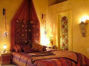 Deko Bilder Schlafzimmer : marokkanische schlafzimmer deko ideen 15 interieurs aus dem orient ~ Sanjose-hotels-ca.com Haus und Dekorationen