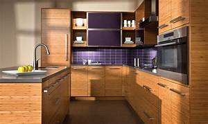 horizontal grain cabinets will make your kitchen look modern natural 1808