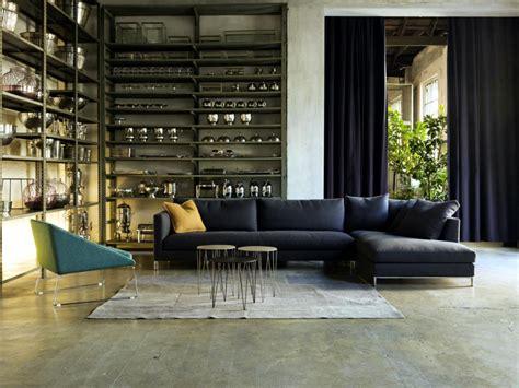 corner shelf   modern industrial  interior