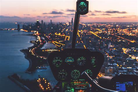 images light skyline night city skyscraper fly
