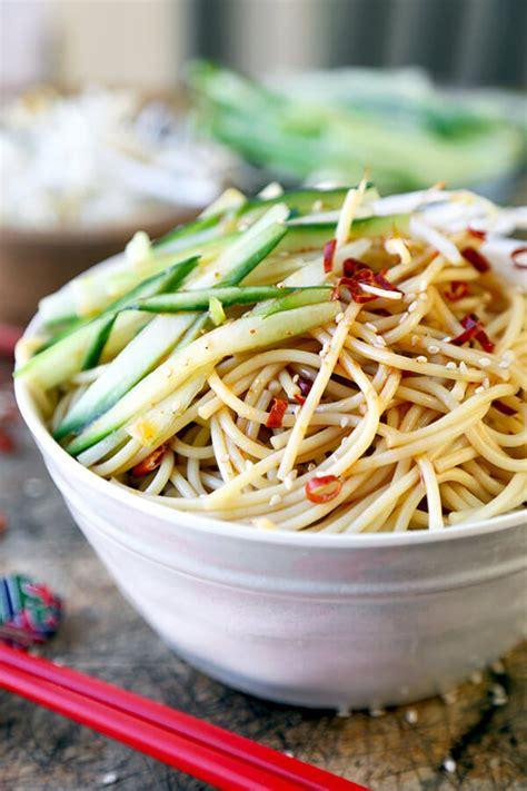 noodle salad recipes cold cold asian noodle salad pickled plum food and drinks