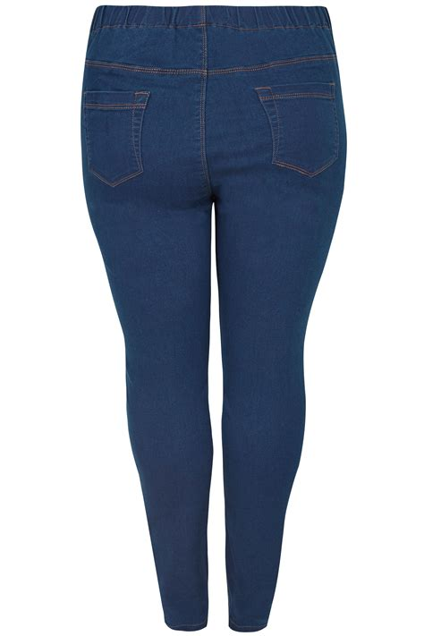 Date Post Jenny Template Responsive by Blue Pull On Jenny Jeggings Plus Size 16 To 36