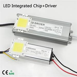 10w 20w 30w 50w 100w Cob Integrated Chip Led Light Lamp Bulb   Power Supply Led Driver For Diy