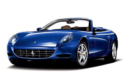 Cruising alongside the ocean, driving through a tropical forest, even crossing a desert. Ferrari Scaglietti Convertible