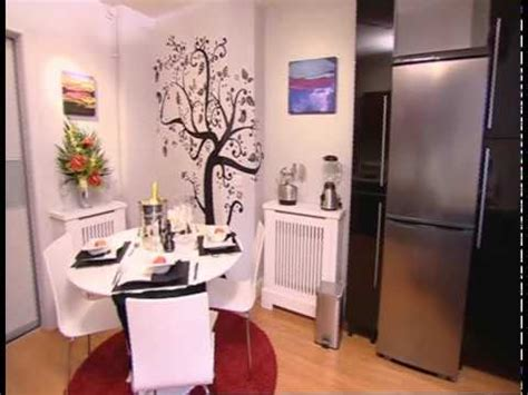 wall glamour  itvs  minute makeover reveal youtube
