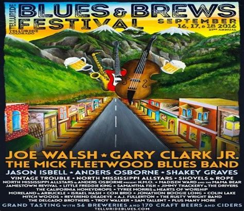 telluride blues brews festival is back for its 23rd year greatbeernow