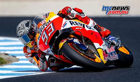marc marquez tops day   phillip island mcnewscomau