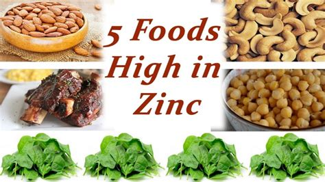 cuisine high foods high in zinc vegan recipes food