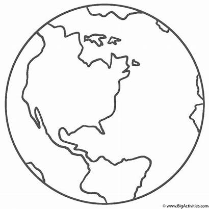 Coloring Earth Space Planet Title Planets Pages