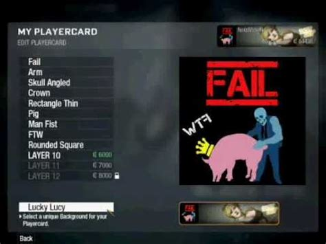 2 player card call of duty black ops edit player card funny player card design tutorial youtube