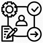 Icon Pdca Process Leadership Action Plan Check