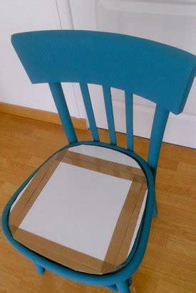 l assise d une chaise diy déco pour relooker une chaise en bois l 39 agenda de la