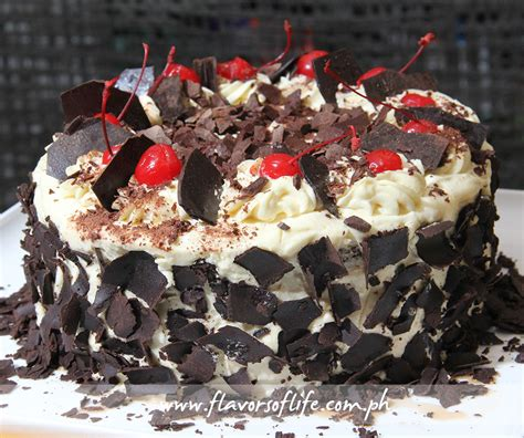 black forest cake  maya kitchens simply delicious