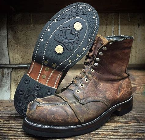 resoled wing moc steel toes wings in 2019 zapatos hombre zapatos and