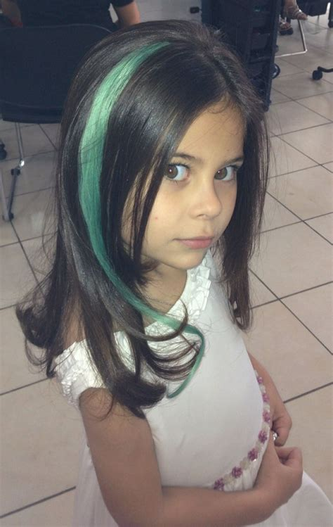 Colored Hair Extensions For Kids Kid With Style