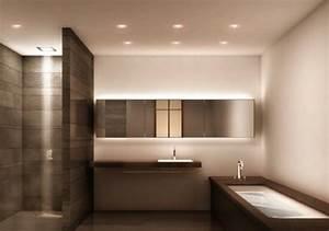 Bad Deckenbeleuchtung Led : g nstige badezimmerlampen aussuchen ~ Markanthonyermac.com Haus und Dekorationen