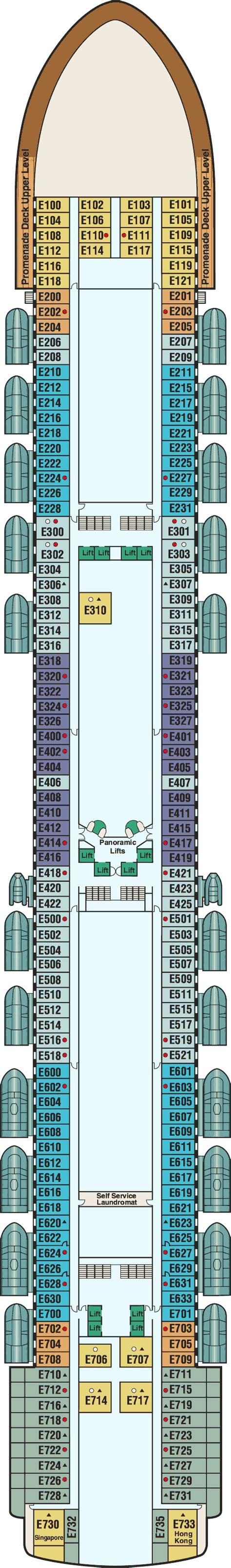 Princess Deck Plans Ships by Princess Deck Plans