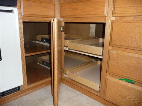 ideas  blind corner cabinet solutions