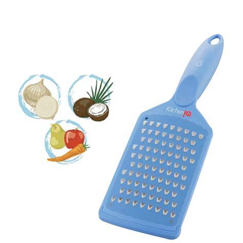 kitcheniq coarse grater paddle blue