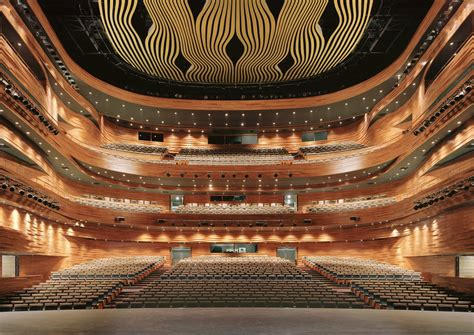 pes architects wuxi grand theatre