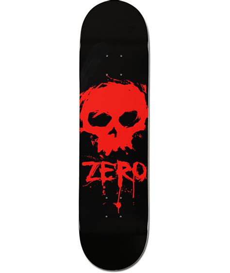 Zero Skateboard Decks by Zero Blood Skull 8 0 Quot Skateboard Deck At Zumiez Pdp