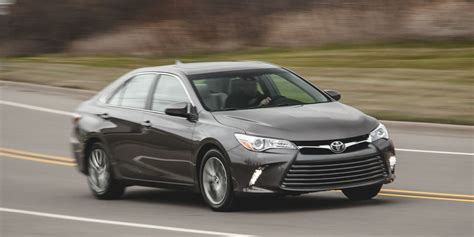 toyota camry xle test review car  driver