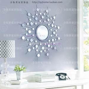 aliexpresscom buy metal wall mirror decor modern With mirrored wall decor