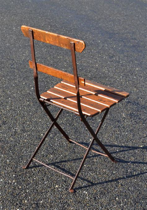 chaise bistrot ancienne stunning chaise de jardin pliante ancienne photos