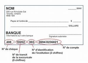 Mettre Un Cheque A La Banque : comment lire le num ro de compte sur un ch que ~ Medecine-chirurgie-esthetiques.com Avis de Voitures