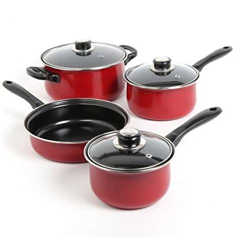 pots cuisine 7 carbon steel cookware set non stick cooking pots
