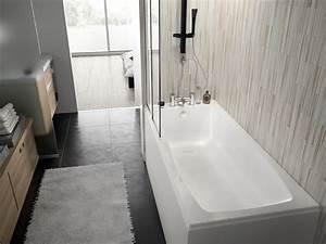 Fond De Baignoire : baignoire rectangulaire cosmo allibert belgique ~ Melissatoandfro.com Idées de Décoration