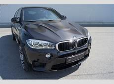 Hamann BMW X6 M with 640 hp and carbon fiber hood