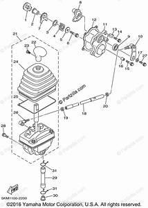 Yamaha Atv 2002 Oem Parts Diagram For Shift Shaft