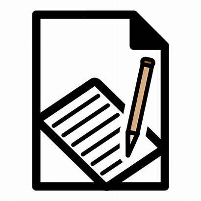 Report Clipart Expense Clip Primary Template Mono