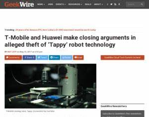 T-Mobile and Huawei make closing arguments in alleged ...