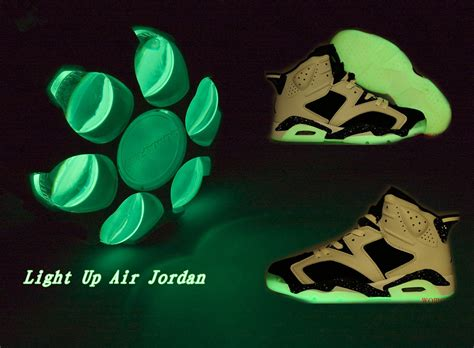nike jordan light up animate custom shoes nike air jordan 6 shoes light up