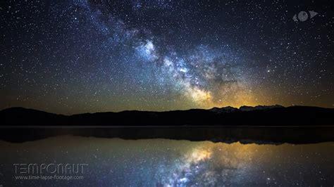 Meteor Explosion Captured In Milky Way Timelapse (4k