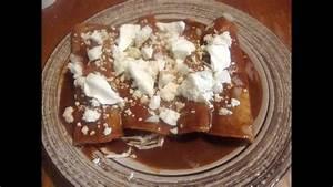 Enchiladas de mole con pollo o envueltos - Comida mexicana ...