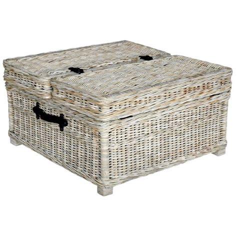 wicker trunk coffee table wicker coffee table furniture pinterest