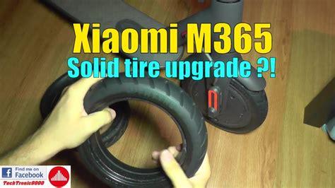 xiaomi m365 test xiaomi m365 solid tire upgrade