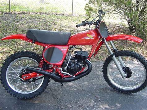 restored vintage motocross bikes for sale 1976 honda cr125 elsinore motocross motorcycle for sale