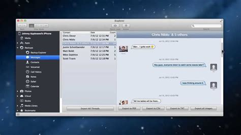connect iphone messages to mac how to transfer text messages from iphone to computer or